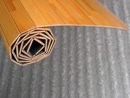 ウッドカーペット、ラグ、じゅうたん下に備長炭シート
